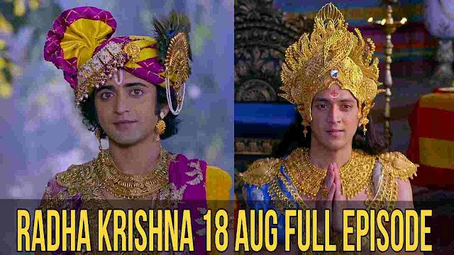 Radha Krishn: Krishn-Arjun Gatha  18Aug full Episode