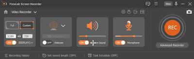 تحميل برنامج تسجيل شاشة الكمبيوتر Fonelab Screen Recorder 2020