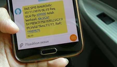Gagal Aktivasi BNI SMS Banking di Mesin ATM