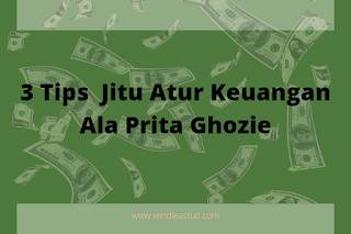 Tips jitu atur keuangan