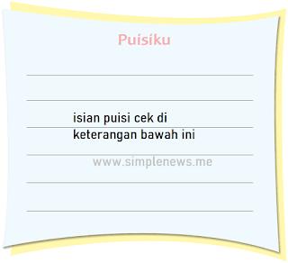 puisi tentang keadaan lingkungan www.simplenews.me
