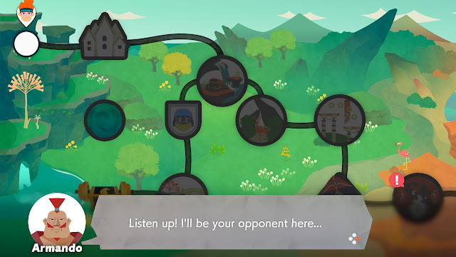 Ring Fit Adventure World 28 Armando dialogue will be opponent world map