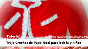 Cómo tejer traje de Santa Claus a crochet / Tutorial