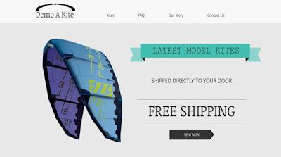 Demo a Kite website