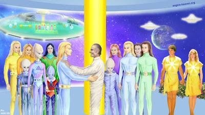 A Galaktikus Föderáció Tagjai - Bevezetés a Fény Galaktikus Föderációjába