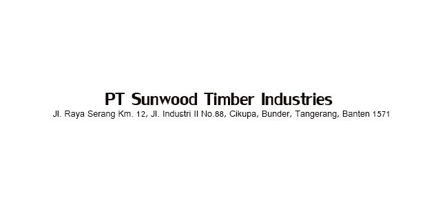 Lowongan Kerja PT Sunwood Timber Industries 2017