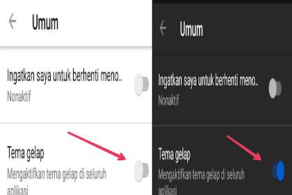 Cara Mengaktifkan Dark Mode YouTube Di Android