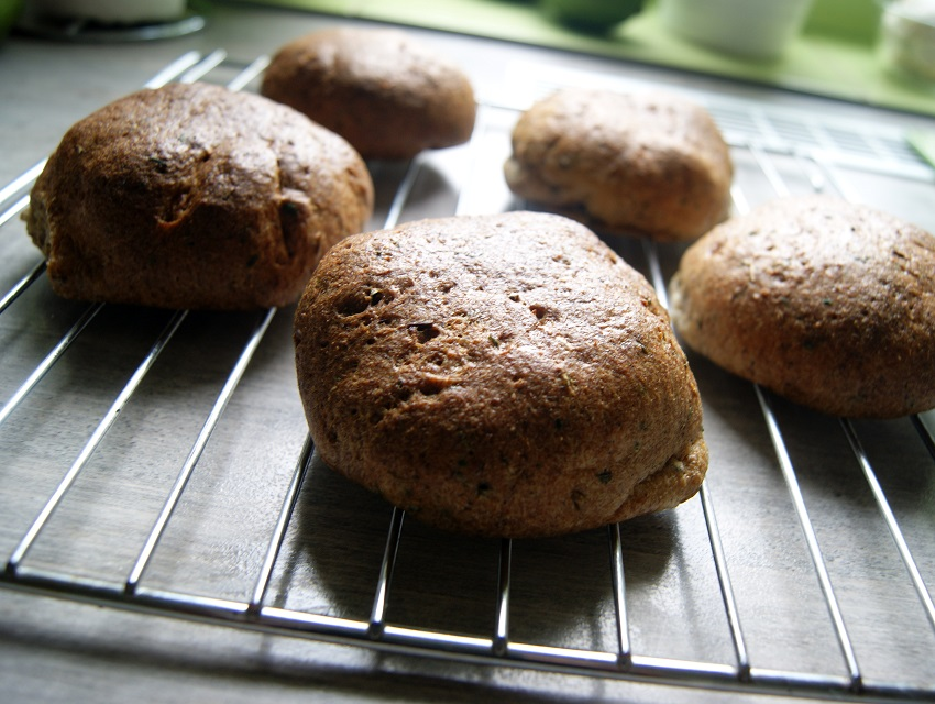 Bułki bez mąki i glutenu