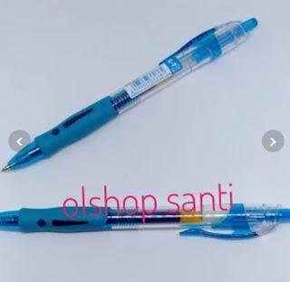 Pulpen GEL 0.5 mm Warna Biru