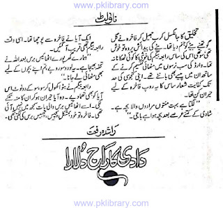 Dadi ka raj dulara by Rashida Riffat Online Reading