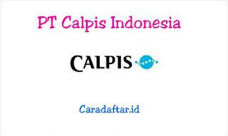 Lowongan Kerja Operator PT Calpis Indonesia (Calpico) Ejip Plot Terbaru 2019