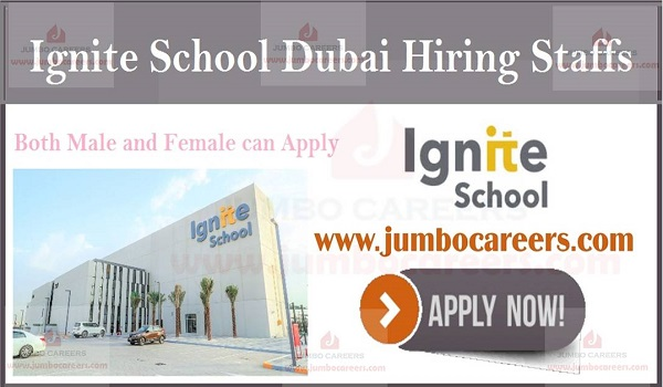 Latest school job openings in Dubai, UAE school jobs with salary,