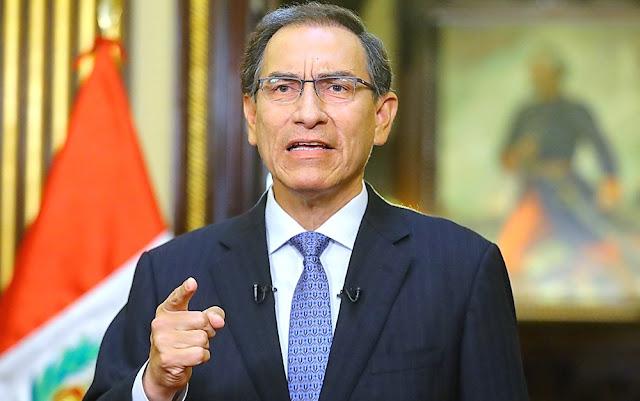 Martín Vizcarra en mensaje a la Nación tras el referéndum 2018
