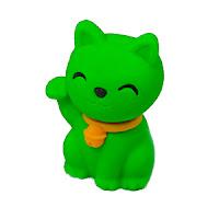 amuleto maneki neko verde