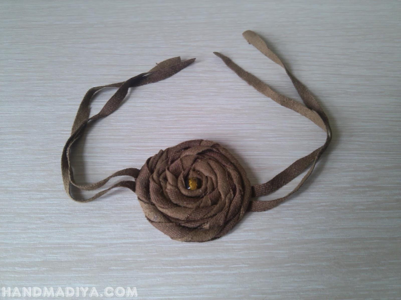Браслет своими руками.  Flower Bracelet step-by-step tutorials