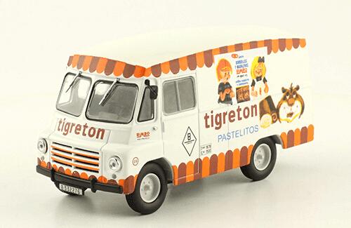 SAVA Austin LD 150 1962 Tigreton vehículos de reparto y servicio salvat