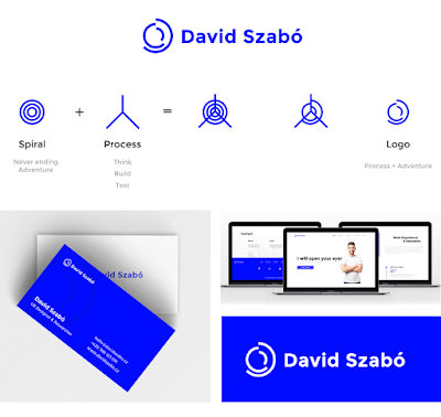 Corporate identity for David Szabo by Simon Rico