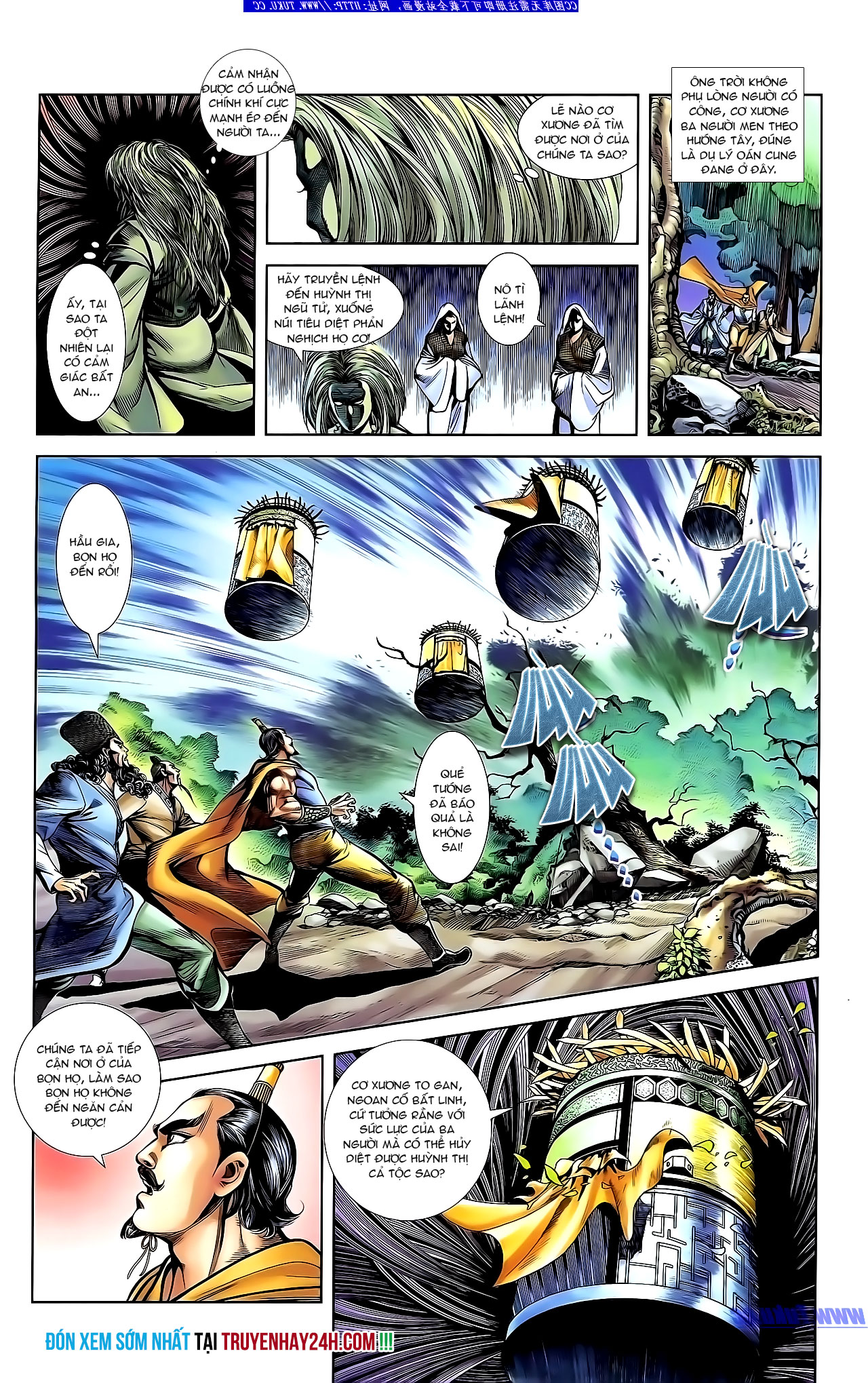 Cơ Phát Khai Chu Bản chapter 133 trang 29