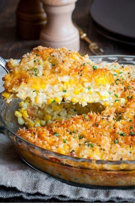Cheddar Sweet Corn Pie