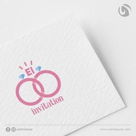 Desain Logo EI Invitation