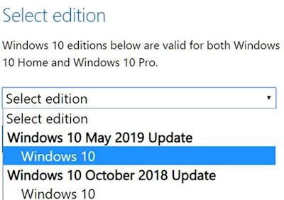 Cara Mengunduh File Windows 10 ISO Tanpa Menggunakan Media Creation Tool