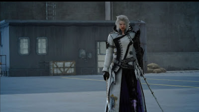 Screenshot of Ravus Nox Fleuret from Final Fantasy XV