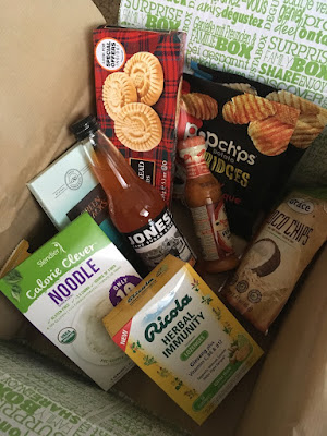 Degustabox is a food surprise box that is chock full of goodies.