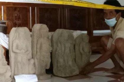 Gali Tanah, Warga Kediri Temukan Lima Arca, Diantaranya Ganesha & Siwa