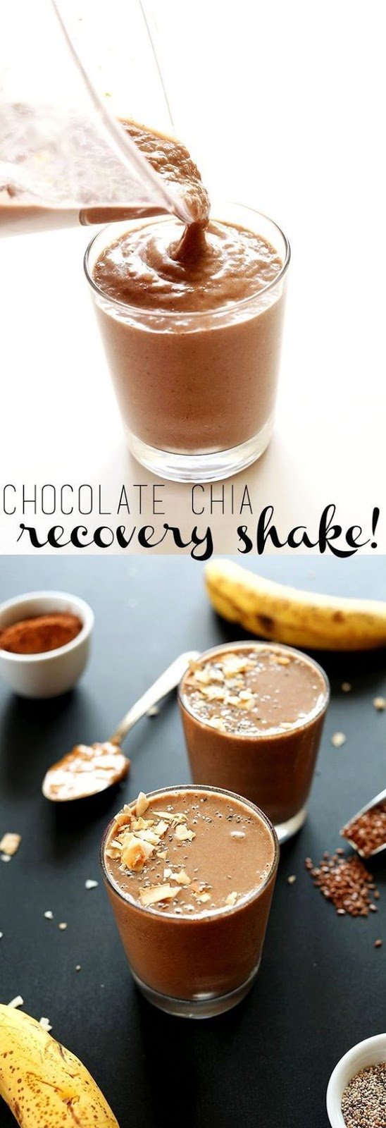 HEALTHY CHOCOLATE CHIA PROTEIN SHAKE