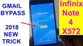 How To FRP Bypass Infinix Note 4 X572 Via SP Flash Tool