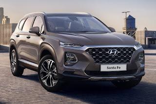 Hyundai Santa Fe (2019) Front Side