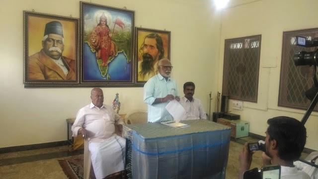 நீதித்துறை உட்பட எல்லா துறையிலும் பாரதீய மொழிகளுக்கு முன்னுரிமை, RSSABPS