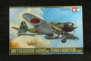 maquette de Zéro A6M5c de Tamiya.