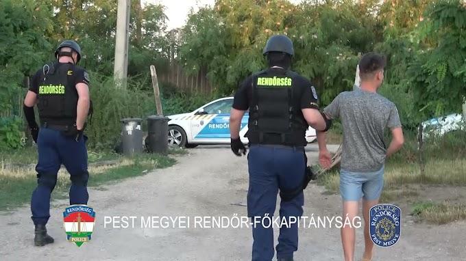 Megszállta a rendőrség Érd környékét