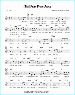 chord the frim-fram sauce lagu jazz standar