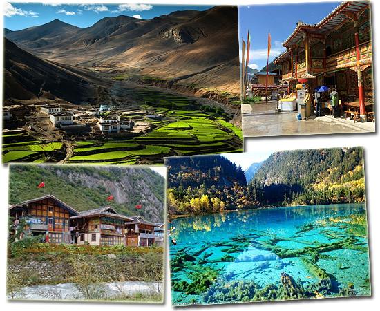 7 cidadezinhas mais incríveis do mundo - Jiuzhaigou
