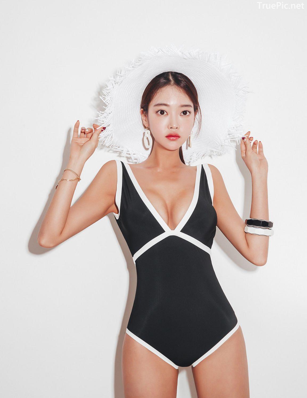 Korean fashion model - Park Jeong Yoon - Lemere Monokini - Picture 2