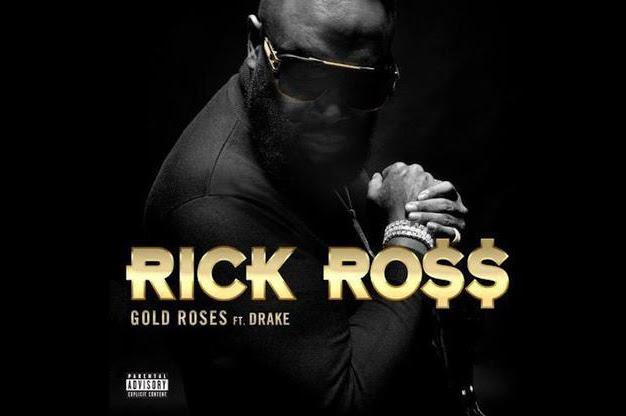 Listen: Rick Ross - Gold Roses Featuring Drake