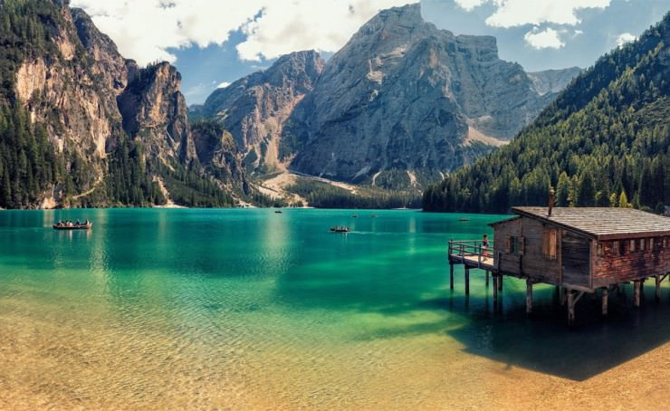 33 Amazing Beaches From Around The World - Prags Lake, Tyrol, Italy