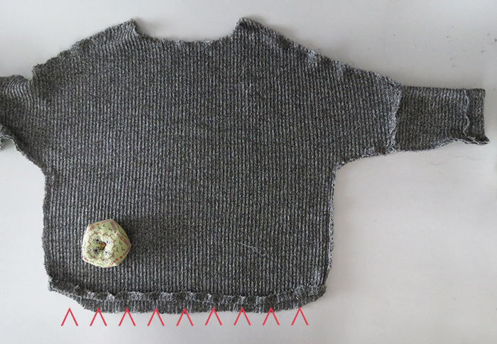 Tips For Knitting Your First Sweater : Sewing knit sweater together vest