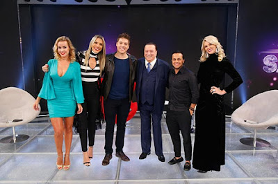 Lola, Ciça, Fabio, Raul, Thammy e Val (Foto: Rodrigo Belentani/SBT)
