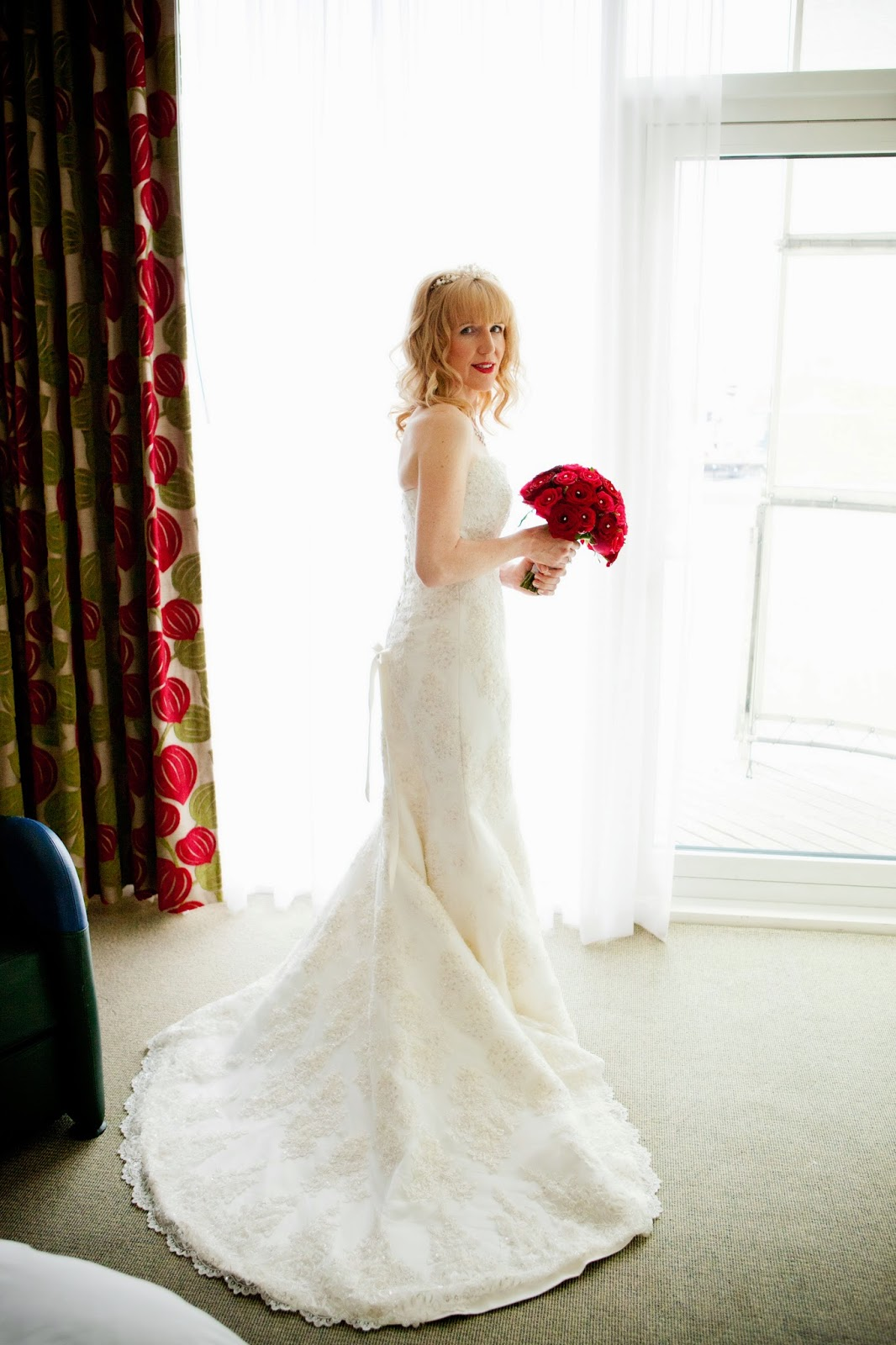 My lovely Maggie Sottero wedding dress