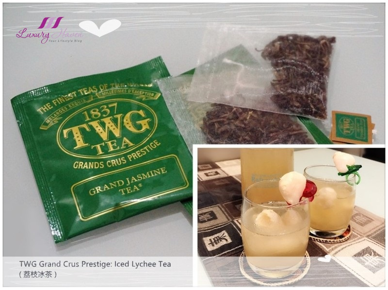 twg grand crus prestige jasmine lychee tea recipes