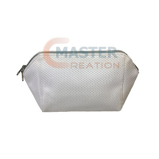 3D PU leather cosmetic bag