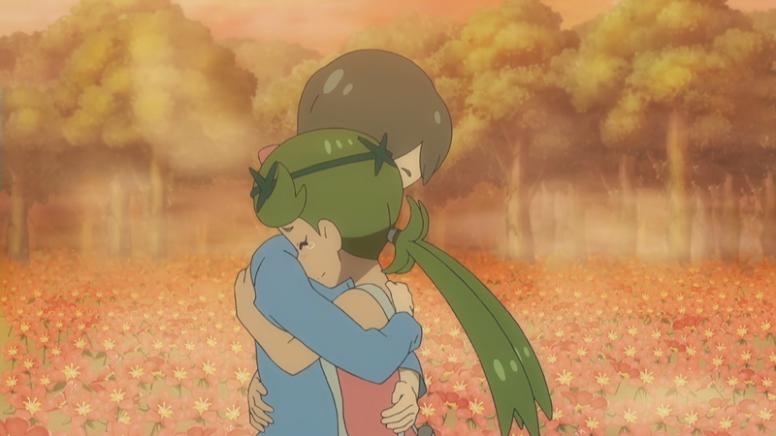 Lulú e Mãe Anime Pokémon