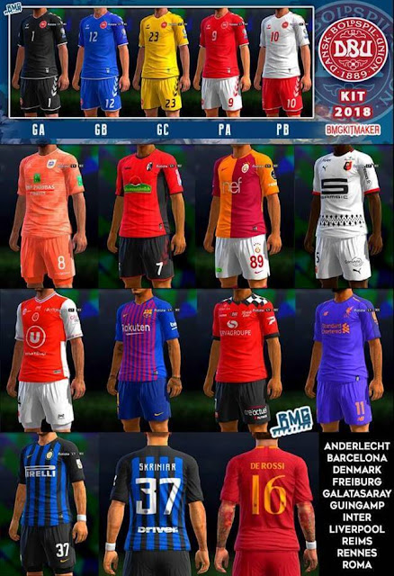 Mini Kitpack Update Mei 2018 PES 2013