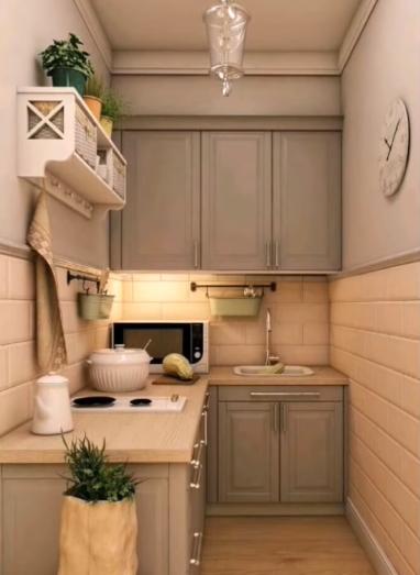 ديكور مطبخ صغير، نصائح هامة في تصميم ديكورات مطابخ صغيرة مع الصور