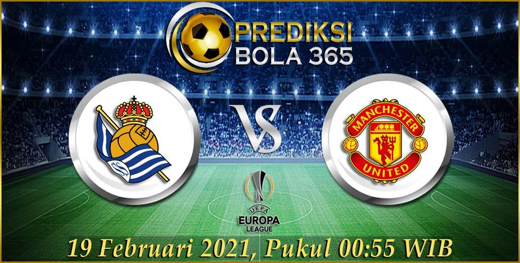 Prediksi Bola Real Sociedad cvs Manchester United Jumat 19 Februari 2021