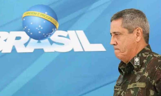 """Começou a intervenção MIlitar? Gen Braga Neto Assume o Estado-Maior do Planalto - Defesanet diz que ele atuará como """"presidente operacional do Brasil""""."""