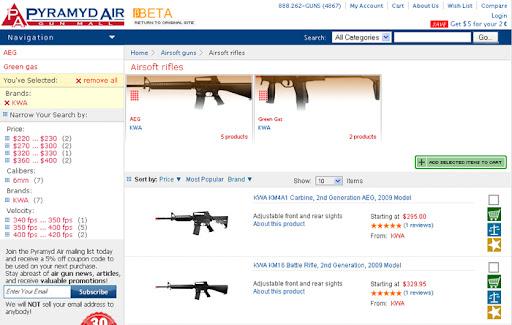 new pyramyd air website, airsoft guns, pyramyd airsoft blog, airsoft news,